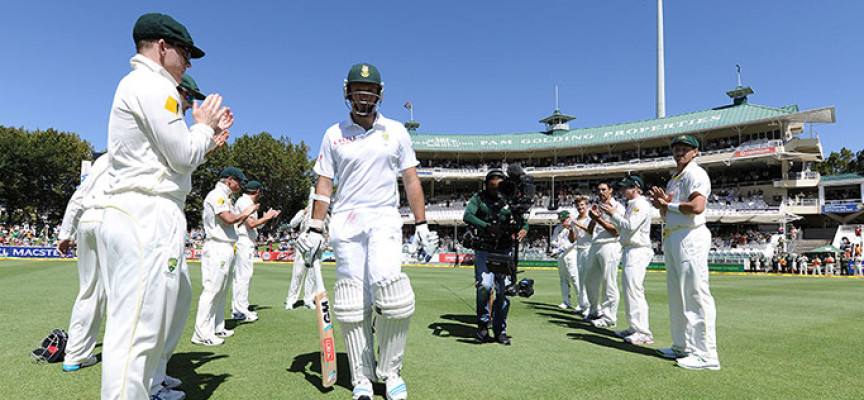 Graeme Smith guard of honour