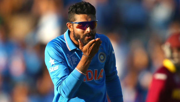 Ravindra-Jadeja-of-India-blows-a-kiss-after-dismissing-Jason-Holder