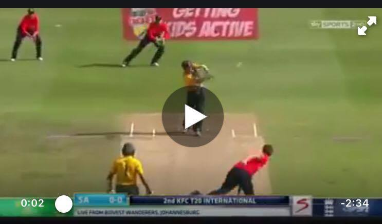 VIDEO AB De Villiers Scores 71 Runs Off 29 Balls Against England