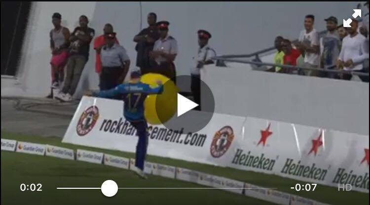 VIDEO AB De Villiers Shows Off His Football Skills In CPL T20 2016