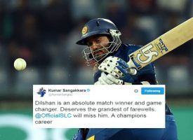 Tillakaratne Dilshan announces retirement from all forms of international cricket
