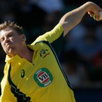 VIDEO: James Faulkner becomes the first Australian to take an ODI hat-trick since 2013