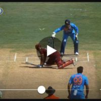 VIDEO: MS Dhoni's stylish stumping to dismiss Lendl Simmons