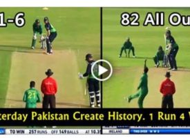 VIDEO: Pakistan crush Ireland with a brilliant bowling performance