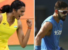 Virat Kohli has a very special message for PV Sindhu ahead of her final match at Rio Olympics