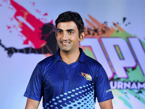 gautam gambhir indian junior players league