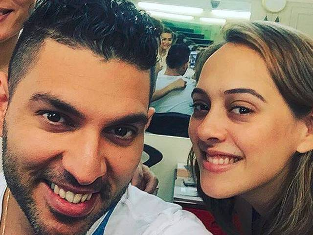 Yuvraj Singhs Wife Hazel Keech Wrote A Very Special Message For Him On Instagram After Her Spectacular Comeback Innings In The Second Match Of Ongoing