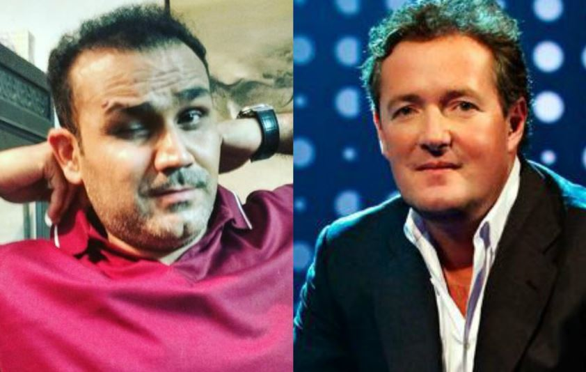 Virender Sehwag, Piers Morgan Involved in Yet Another Twitter Banter