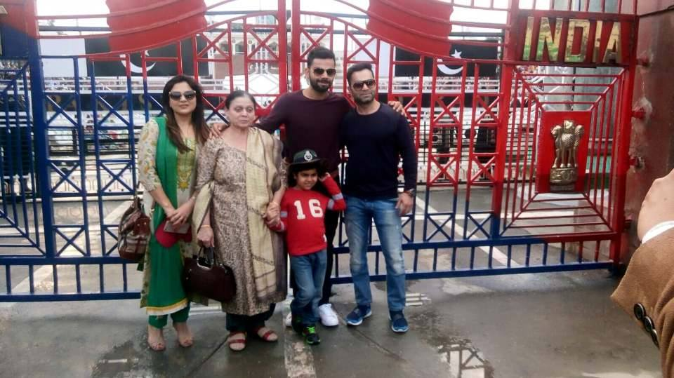 Unseen Pictures Of Virat Kohli S Brother Bhabhi And Other