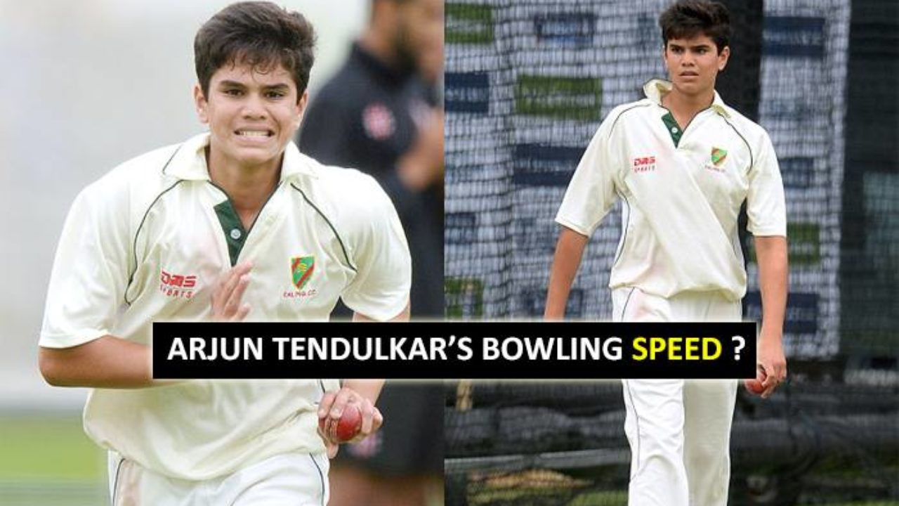 You Will Be Surprised To Know Arjun Tendulkar's Bowling Speed - The