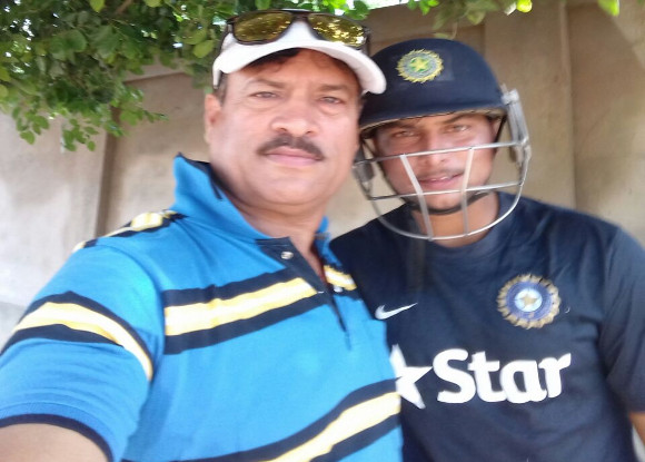 kuldeep yadav coach