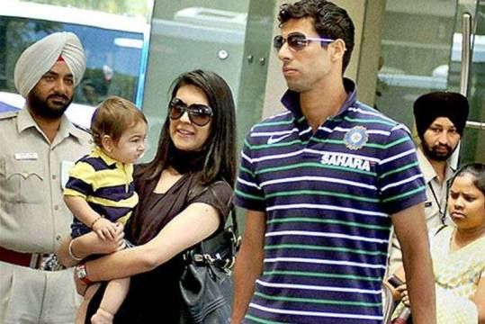 nehra wife