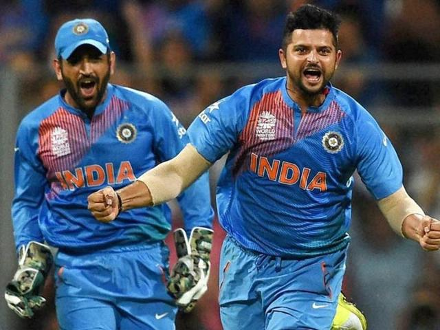 Image result for raina and dhoni