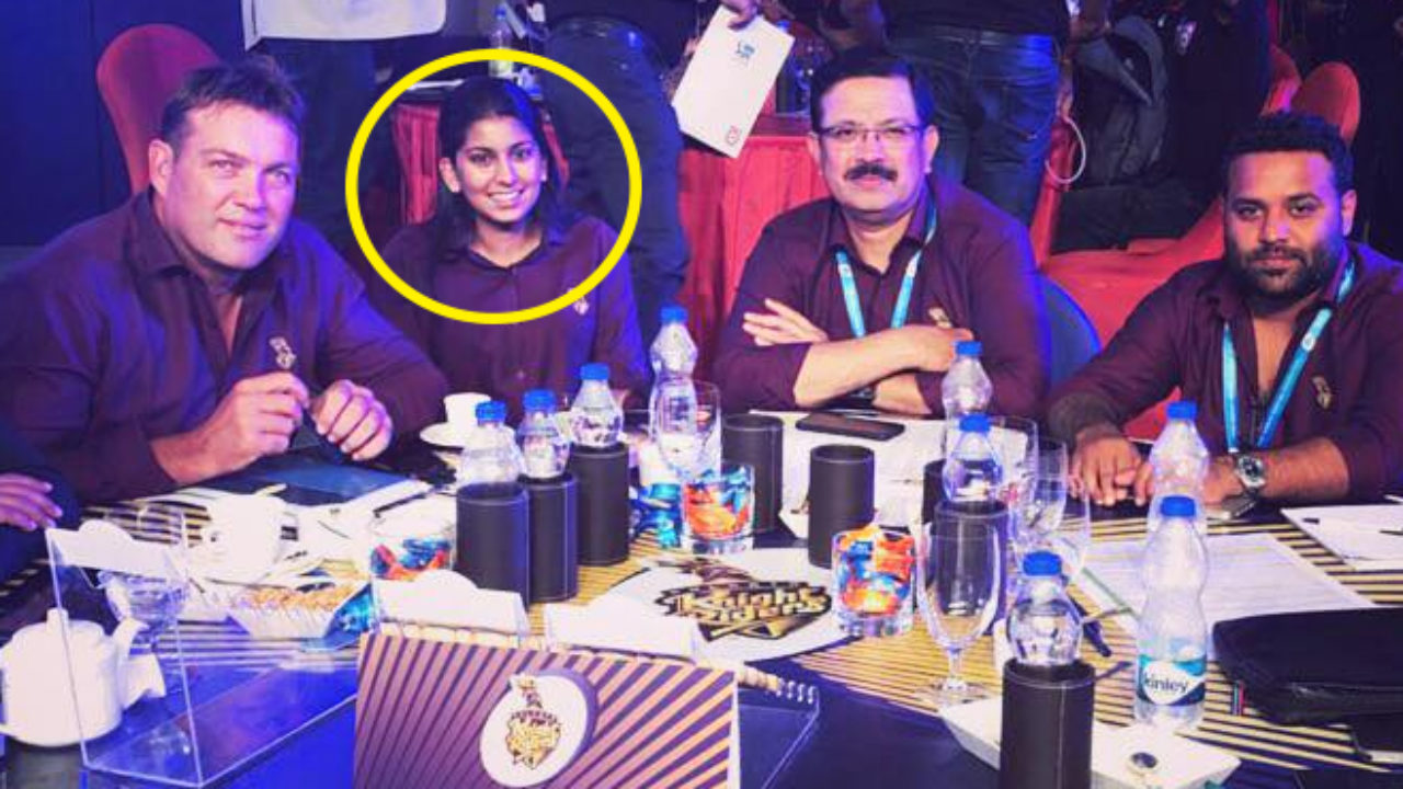 Who Is This Woman Making Bids For KKR In IPL Auction 2018?