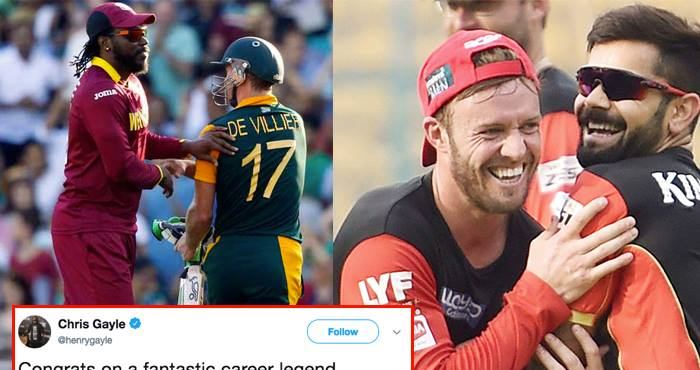 Sad we won't bat together again: du Plessis on de Villiers retirement