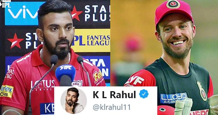 KL Rahul Paid A Very Emotional Tribute To AB De Villiers