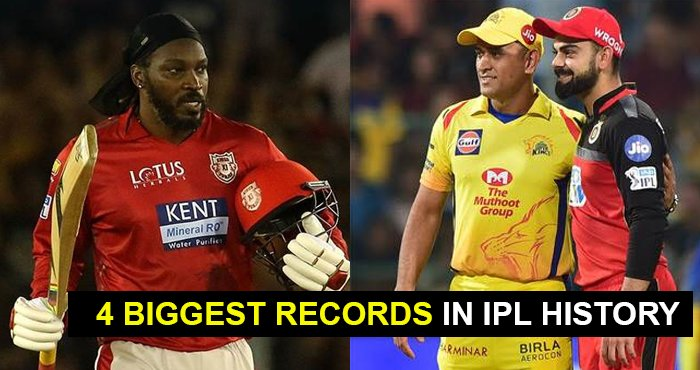 4 BIGGEST RECORDS