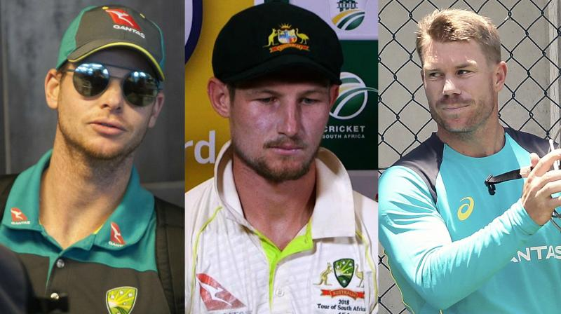 Image source: https://www.deccanchronicle.com/sports/cricket/280318/steve-s-smith-david-d-warner-cameron-bancroft-ball-tampering-australia.html