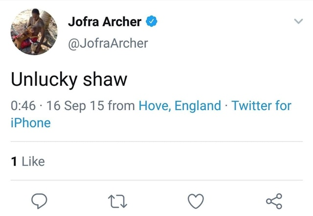 Jofra-Archers-tweet