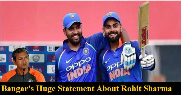 Bangar talks about Rohit Sharma