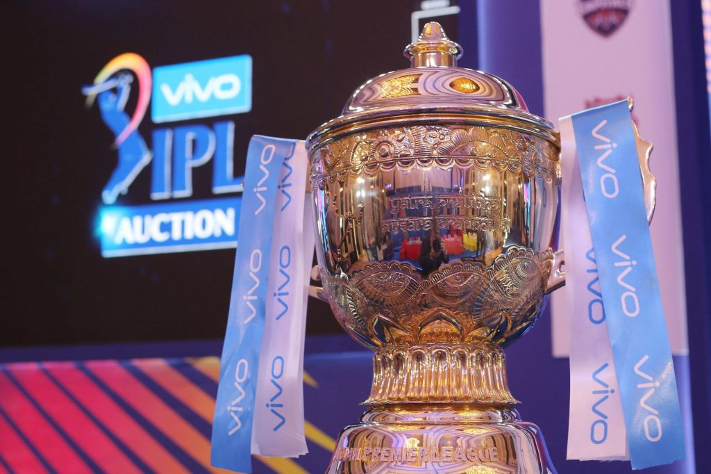 IPL 2020 AUCTION TROPHY