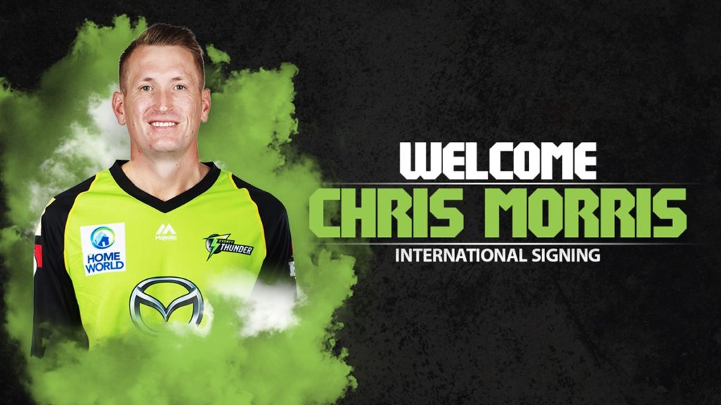 Suggested Playing XI No.1 for Big Bash League Fantasy Cricket- chris morris