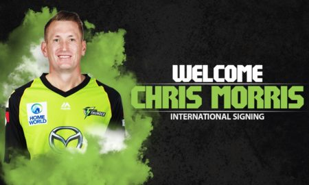 Suggested Playing XI No.1 for Big Bash League Fantasy Cricket tips- chris morris