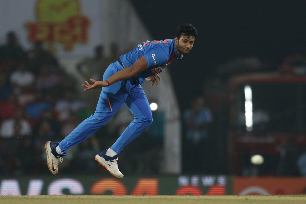 Nagpur: India's Shivam Dube in action during the 3rd T20I match between India and Bangladesh at Vidarbha Cricket Association Stadium in Nagpur on Nov 10, 2019. (Photo: Surjeet Yadav/IANS)