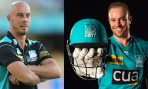 Chris Lynn and AB De Viliers