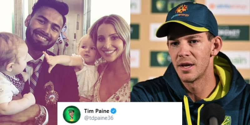 Tim Paine Opens Up About Trolling Rishabh Pant And Calling Him A Babysitter