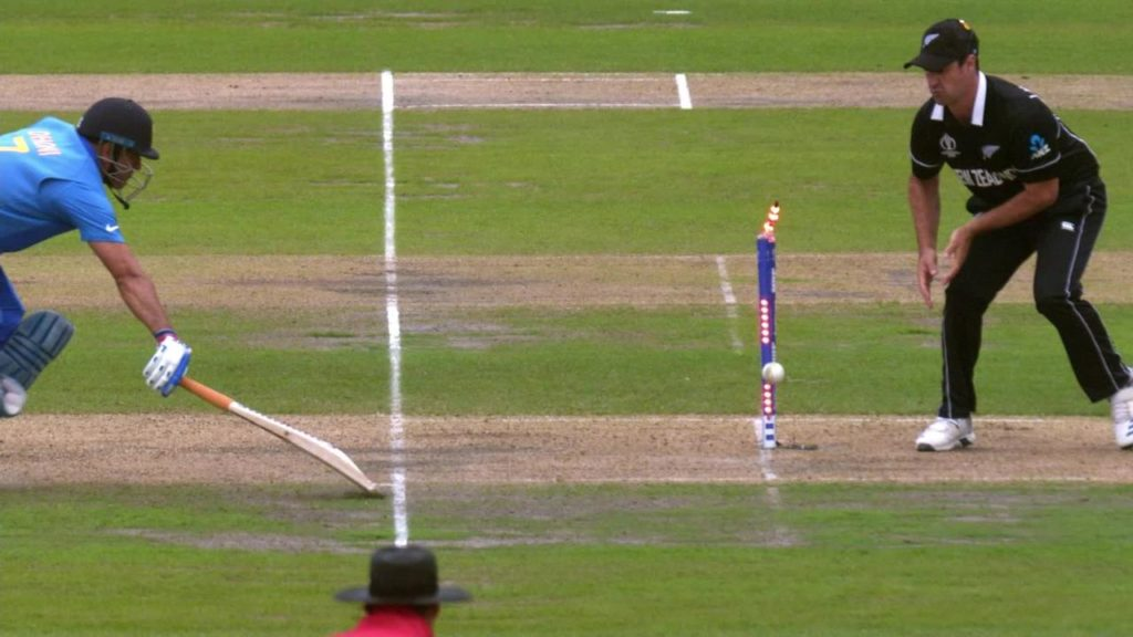 ms dhoni run out