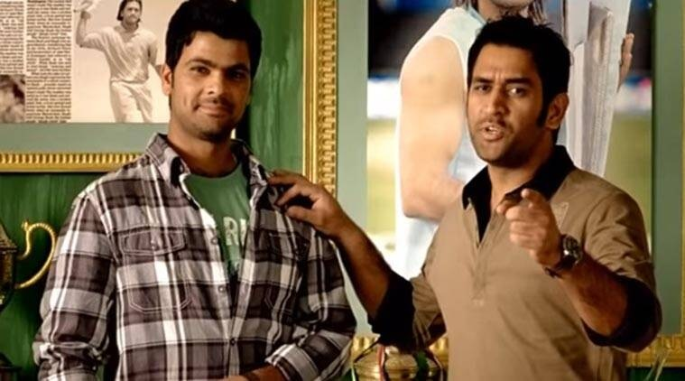 MS Dhoni and RP Singh