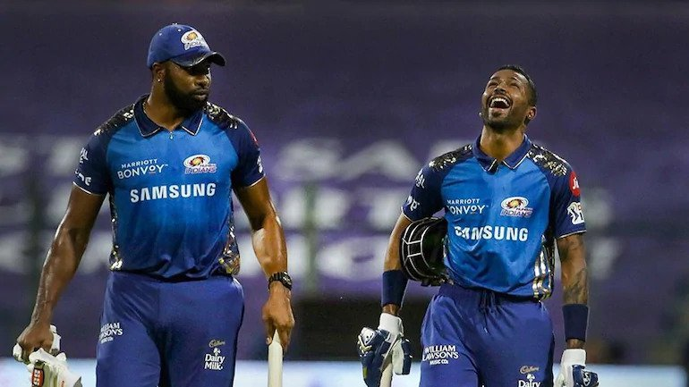 Rohit Sharma praised Hardik and Pollard