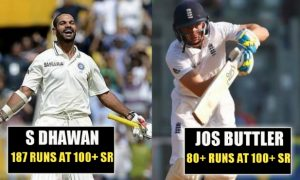 most runs on Test debut