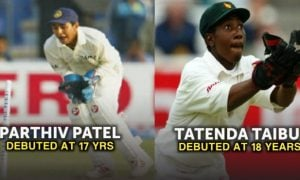 Youngest wicketkeepers to play Test cricket