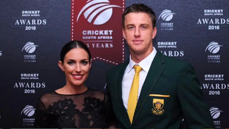 Morne Morkel and Roz Kelly