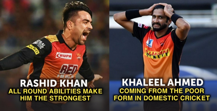 players of SRH in IPL 2021