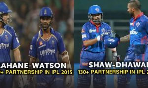 highest partnerships against CSK