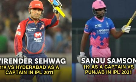 IPL century as a captain