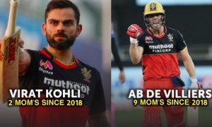 Man Of The Match Award Winners For RCB